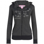 IR Damen Sweatjacke Hot Stuff