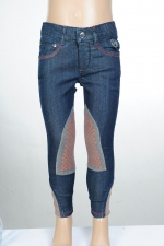 HKM Kinder Reithose Sweetheart Denim